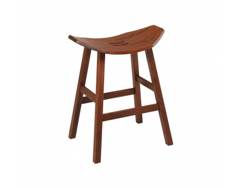 Mission 24 High Stationary Barstool Image