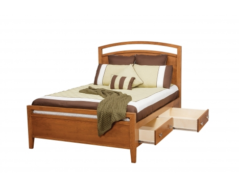 Nouveau Queen Supreme Bed w/ 30 Drawers (2 Per Side) Image