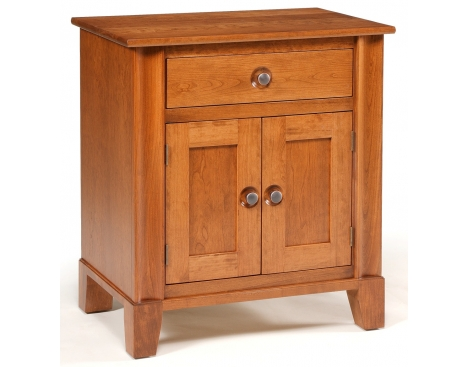 Cosmopolitan 1-Drawer 2-Door Nightstand Image