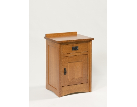 Mission 1-Drawer 1-Door Nightstand Image