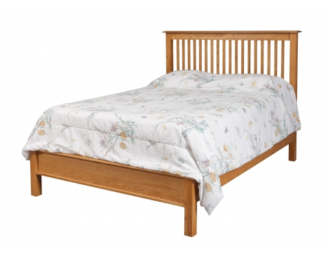 Simplicity Queen Bed w/ Low Footboard Image