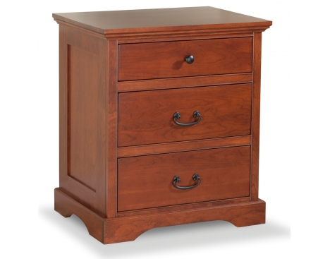 Elegance 3-drawer Nightstand Image