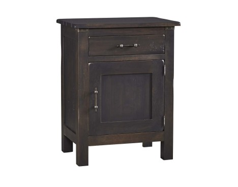 Wildwood Collection 1 Drawer 1 Door Nightstand Image
