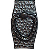 Hammered Antique Pewter Bail Swatch