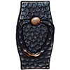 Hammered Antique Copper Bail Swatch